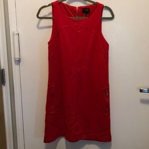 Laundry by Shelli Segal red mini dress barely worn